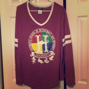 Hagwarts long sleeve shirt
